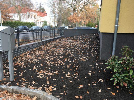 Gartengestaltung-Pflanzvorbereitung